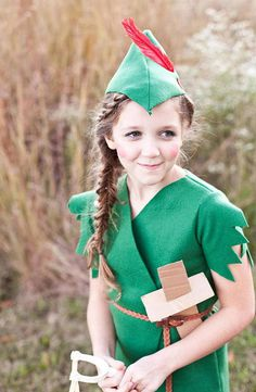 Peter Pan #homemade #diy #costume