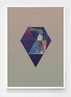 Shapes of the Space #poster #print #shape #space