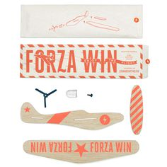Forza Wing - Rooftop Supper Club #model #packet #flight #infographic #orange #plane #kit #paper