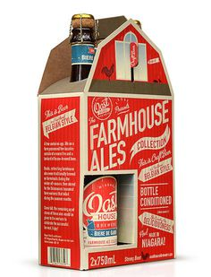 Oast House 2 Pack #packaging #beer #label #bottle