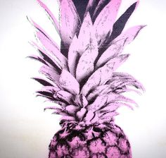 Pineapples Print by Rainer - #art, #painting, #fineart