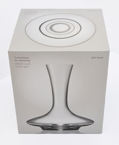 John Lewis Connoisseur Glassware Range | Irving #packaging #geometry #glassware