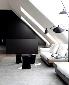 Luxury Loft Apartment by Bernd Gruber - nterior design, interior, #decor, home decor, home #design, #interiordesign #kitchen