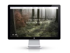VOSS on the Behance Network #monitor #website #photo #display #apple #webpage #home page