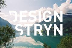 Design Stryn on the Behance Network #logo #branding
