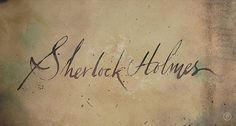 Graphic-ExchanGE - a selection of graphic projects - Sherlock Holmes by Prologue #sherlock #animation #design #titles #film #holmes