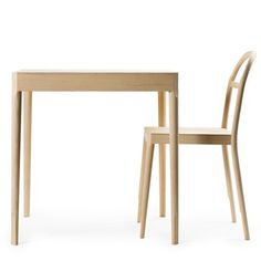 Dezeen » Blog Archive » Österlen by Inga Sempé for Gärsnäs #sempe #inga #chair #sterlen #wood #furniture #grsns #table