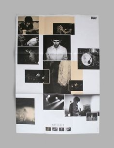 NEO NEO | Graphic Design | Levi's #blackwhite #print #levis #poster #fashion #folder
