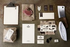 Graphic-ExchanGE - a selection of graphic projects - Kerry Ropper #shop #food #chop #branding