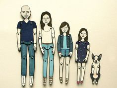 Jordan Grace Owens (14) #toys #family #dolls #illustration #paper