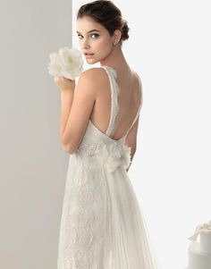 Barbara Palvin & Sara Sampaio for Rosa Clara Bridal Collection 2014 #model #shoes #girl #lookbook #campaign #collection #bridal #dresses #photography #fashion #dress #wedding