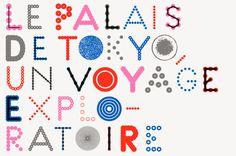 palais de tokyo : H E L M O #chromatic #type #colour