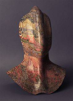 NAD (Paul Klee Spinalman) | Flickr Photo Sharing! #bust #sculpture #3d