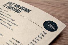 CAFÉ CAMBIO #menu