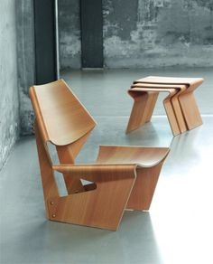 Contemporary Lange Production Re Introduces Chair Styles