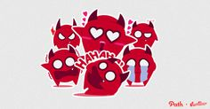 Devil: Path Sticker Design #path #devil #sticker #design
