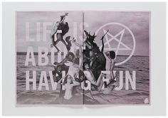 Michael Freimuth #blackwhite #typography #demons #photoshop #satan
