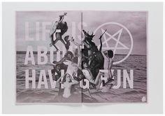 Michael Freimuth #blackwhite #typography #demons #photoshop #satan