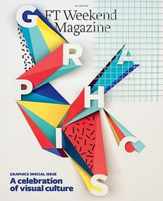 FT Weekend mag (UK) #graphic #triangles