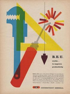 All sizes | Connecticut General B.E.U. Ad | Flickr - Photo Sharing! #advert #colour #retro #vintage