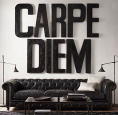 Carpe Diem #inspiration #design #typography