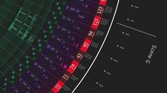 The Witcher 2 Intro Visual Data on the Behance Network #infographics #design #graphic #art