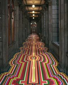 inspireworks #stripes #colors #art #floor