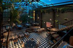 The Cool Hunter Welcome #interior #ceiling #dusk #air #restaurant #bar #open