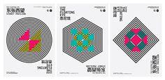 Shanghai Biennale / Sydney Pavilion on Behance #geometry #op #art