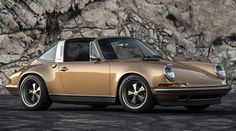 Porsche 911 'Cupertino' by Singer Vehicle Design #Porsche #911Targa