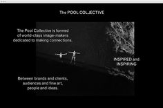 The Pool Collective by M35 #web #site #web design #website