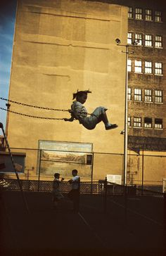ERNST HAAS ESTATE | COLOR: NEW YORK #swing #photography #newyork #ernesthaas