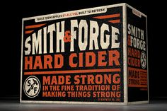 soulsight® | Featured Work | Smith & Forge Hard Cider #design