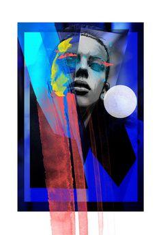 J I T T E - Rosco Flevo #model #roscoflevo #artscumantics #collage #jitte #digital #colors #illustration #postartfuckery #fashion #media #muse #mixed