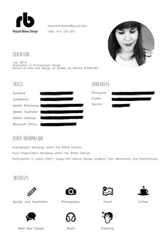 Curriculum Vitae on Behance #cv