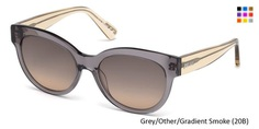 JUST CAVALLI JC760S - Grey/Other/Gradient Smoke (20B) + free shipping & return + $0 Tax on orders Outside CA + 1 year Man. Warranty Use coupon code : GO-VD40