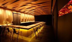Yoshiyuki Interior by Asylum #interior #lighting