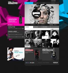 Web design inspiration | #314 « From up North | Design inspiration & news