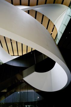 Nikkei Media Wall | WORKS CURIOSITY キュリオシティ #skulptur #architecture #band