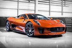 James Bond Jaguar C-X75 #JamesBond #JaguarCX75 #Spectre
