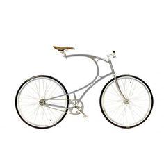 Vanhulsteijn - Cyclone - HIGH-END DESIGN - BICYCLES #steel #vanhulsteijn #bicycle #staineless #cyclone #brown #grey