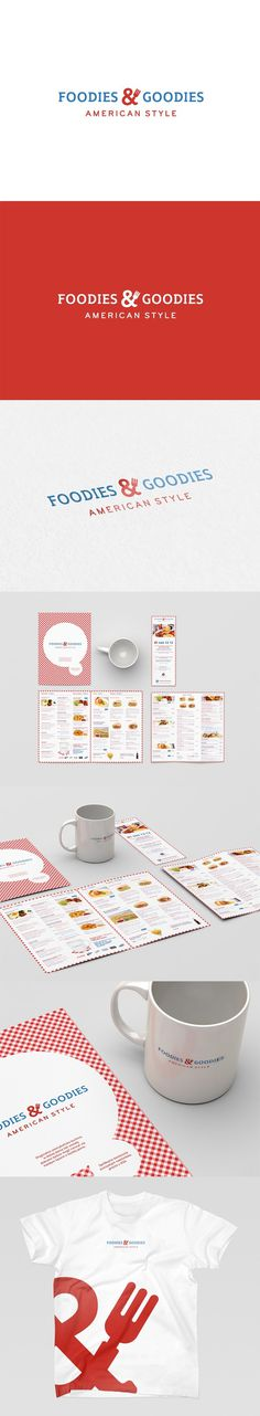 Foodies & Goodies #an #prints #branding #american #restaurant #identity #for #logo #style