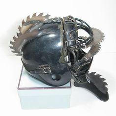 Wasteland Raider Saw Helmet by swanboy on deviantART