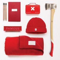 Modern, Typography, Expanded, Font, Typeface, Sans-Serif, Best Made, Red, Camp, Camping