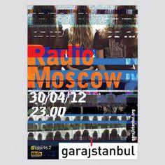 Radio Moscow • garajistanbul • Yigit Karagoz #distortion #glitch #poster