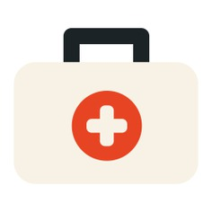 See more icon inspiration related to doctor, medical, hospital, emergency kit and medical kit on Flaticon.