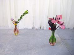Joshua Petherick and Liv Barrett #gallery #arrangement #installation #art #flower