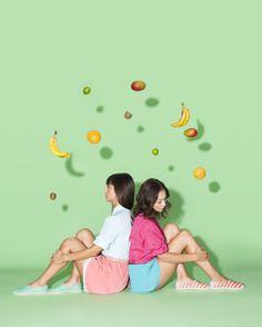 Native Shoes Catalogue Spring/Summer 2014 on Behance #summer #look book #shoes #fruit