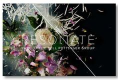 Creative Review - Someone's explosive identity for Resonate #logo #colour #branding #flowers