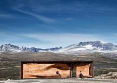 TVERRFJELLHYTTA - Norwegian Wild Reindeer Centre Pavilion, Hjerkinn, Norway, 2011. By Shøhetta Oslo AS. #norway